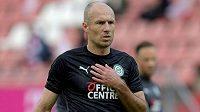 Arjen Robben v 37 letech ukončil profesionální kariéru