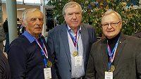 Zleva Květoslav Mašita, Josef Fojtík a Milan Špinka.