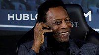 Legendární Pelé byl propuštěn z nemocnice