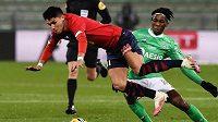 Fotbalisté Lille před zápasem se Spartou remizovali na hřišti St. Etienne