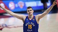 Srbský basketbalista Nikola Jokič byl vyhlášen nejužitečnějším hráčem sezony NBA