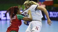 Portugalky nehrály zrovna v rukavičkách, Kamilu Kordovskou o tom přesvědčila Patrícia Fernandésová.