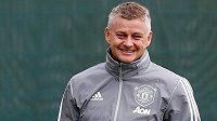 Trenér fotbalistů Manchesteru United Ole Gunnar Solskjaer