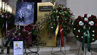 Pohřeb Dany Zátopkové