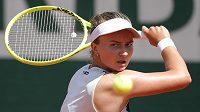 Česká tenistka Barbora Krejčíková si v Paříži zahraje čtvrtfinále French Open.