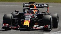 Max Verstappen vyhrál sprintovou kvalifikaci na GP Británie