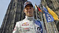 Lídr mistrovství světa v rallye Sebastien Ogier.