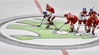 Automobilka Škoda Auto je dlouholetým partnerem mistrovství světa v ledním hokeji. Teď reálně hrozí, že toto partnerství zanikne. Ilustrační foto.
