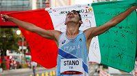 Olympijský závod v chůzi na 20 kilometrů vyhrál v Sapporu Ital Massimo Stano