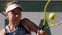 Barbora Krejčíková bojovala o finále French Open