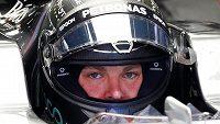 Nico Rosberg opanoval volné tréninky v Barceloně.