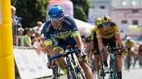 Adam Ťoupalík v závěrečné etapě Czech Cycling Tour