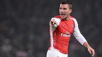 Lukas Podolski opouští Arsenal, na hostování jej získal milánský Inter.