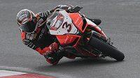 Bývalý mistr světa superbiků Max Biaggi se zranil při havárii na tréninku před víkendovým závodem kategorie supermoto.