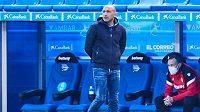 Deportivo Alavés odvolalo po poklesu na poslední místo tabulky španělské fotbalové ligy trenéra Abelarda