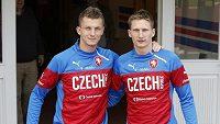 Tomáš Necid (vlevo), nebo Milan Škoda? Který z nich bude proti Islandu ten pravý...?