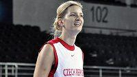 Kapitánka českých basketbalistek Eva Vítečková.