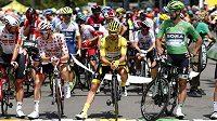 Julian Alaphilippe pojede ve žlutém trikotu i po prvním volném dnu letošní Tour.
