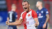 Vladimír Coufal, střelec druhého gólu červenobílých v duelu proti Slovácku.