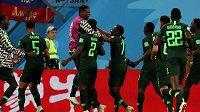 Fotbalisté Ghany během světového šampionátu v Rusku