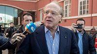 Předseda AC Milán Paolo Scaroni odstoupil z vedení italské fotbalové ligy