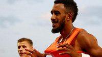 Orlando Ortega slaví vítězství na 110 metrů překážek