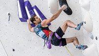 Martinu Stráníkovi na MS ve sportovním lezení v Moskvě těsně unikla medaile v obtížnosti