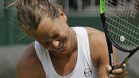 Barbora Strýcová slaví postup do čtvrtfinále