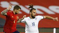 Fotbalisté Španělska a Kosova se střetli v kvalifikačním utkání o mistrovství světa, duelu předcházela diplomatická rozmíška.
