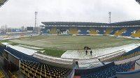 Technický stav hrací plochy v Teplicích neumožňuje hráčům odehrát dnešní zápas s Libercem.