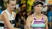 Danielle Collinsová po semifinálovém souboji s Petrou Kvitovou na Australian Open