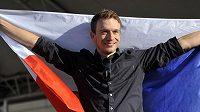 Lidé v Moravské Třebové přivítali svého rodáka, cyklistu Leopolda Königa (na snímku). König jako lídr německé stáje NetApp-Endura vybojoval v letošním etapovém závodě Tour de France sedmé místo.