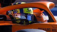 Lando Norris ze stáje McLaren.