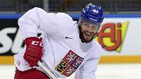 Obránce české hokejové reprezentace Michal Jordán.