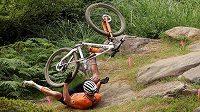 Mathieu van der Poel si kvůli tomuto pádu nesplnil sen o olympijském zlatu.