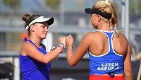 České tenisové naděje nedaly svým soupeřkám šanci