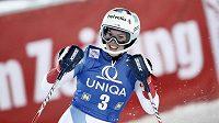 Švýcarka Michelle Gisinová vyhrála slalom v Semmeringu.
