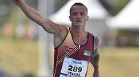 Jan Veleba časem 10,16 vyrovnal český rekord v běhu na 100 m.