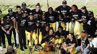 Basketbalistky Seattlu Storm slaví WNBA