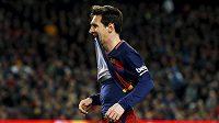 Hvězda Barcelony Lionel Messi - ilustrační foto.