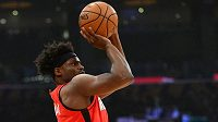 Hráč NBA Danuel House z týmu Houston Rockets.