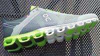Silniční běžecké boty On Cloudflow - polštářky jsou hlavním poznávacím znamením.