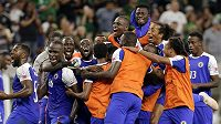 Fotbalisté Haiti zaskočili Kanadu a jsou v semifinále Gold Cupu.