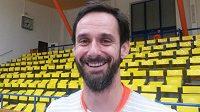 Ondřej Hudeček, bývalý volejbalový reprezentant, chce s Karlovarskem útočit na medaili.