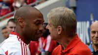 Nahradí jednou na lavičce Arsenalu Arséna Wengera (vpravo) Thierry Henry?