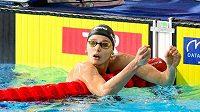 Simona Kubová mohla být se svým výkonem spokojená
