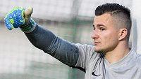 Brankář Slovanu Liberec Milan Knobloch.