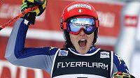 Třetí obří slalom sezony Světového poháru vyhrála v Courchevelu italská lyžařka Federica Brignoneová