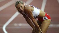 Polka Joanna Linkiewicz vyhrála v Londýně závod na 400 m překážek.