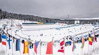 Pokračování Světového poháru biatlonistů komplikuje počasí